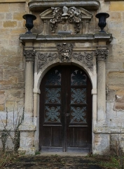 Château de Ville-sur-Saulx - Français:   Château de Trèves.