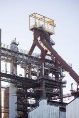 Usine sidérurgique -  Haut-fourneau U4