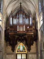 Eglise Saint-Amé - Français:   Orgues de l\'église Saint-Amé, Plombières-les-Bains, Vosges, FRANCE
