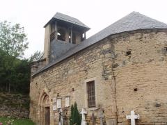 Eglise Saint-Geniès de Benque-Dessous - English:   Roman church in Benque-Dessous in Pyrenees.