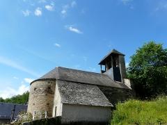Eglise Saint-Geniès de Benque-Dessous - Français:   L\'église Saint-Geniès de Benque-Dessous vue depuis le nord-est, Haute-Garonne, France.