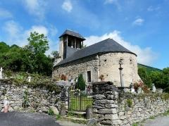 Eglise Saint-Geniès de Benque-Dessous - Français:   L\'église Saint-Geniès de Benque-Dessous vue depuis le sud-est, Haute-Garonne, France.