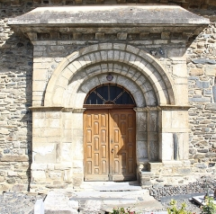 Eglise Notre-Dame de l'Assomption - Église Notre-Dame-de-l'Assomption d'Azet (Hautes-Pyrénées)