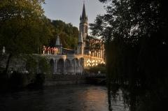 Domaine du sanctuaire de Lourdes - English: taken during 2010 military pilgrimage