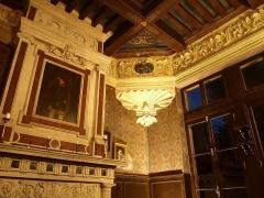 Pavillon Henri II - Français:   Intérieur du Pavillon Henri II, le Grand Salon
