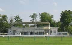 Hippodrome - English: Former weighing room of the Chantilly Racecourse