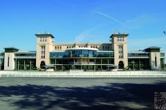 Hippodrome - English: DL2A hippodrome Chantilly GrandesTribunes