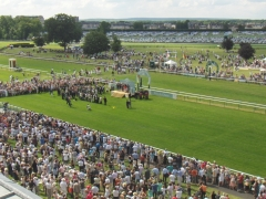 Hippodrome - English: Podium of the Prix de Diane French horserace in Chantilly