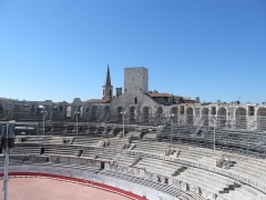 Ecole Saint-Charles - English: Arles Inside of Arena