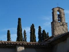 Chapelle Saint-Pancrace -  chocher-mur de l'ermitage Grambois