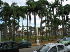 Place de l'Esplanade, dite place des Palmistes -
