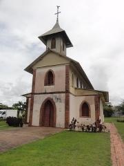 Eglise du bourg de Montsinery -  Église Saint-Jean-Baptiste de Montsinéry