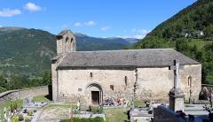 Chapelle Saint-Etienne - Chapelle Saint-Étienne de Gouaux (Hautes-Pyrénées)
