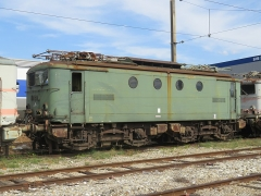 Gare - English: A BB 8100 (BB 8271, in activity between March 1955 and May 2001) parked at the scrapyard of Culoz (Ain, France) on September 9, 2018.