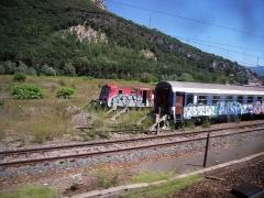 Gare -  Autre façon pour la SNCF d'alléger sa flotte de vieux trains: la revente à l'étranger.