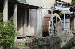 Moulin à farine situé sur le cours de la rivière dénommée La Suisse - Français:   Moulin à farine de Cerdon, Ain.