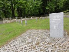 Cimetière militaire allemand - English: Veslud (Aisne) Cimetière militaire allemand