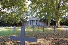 Monument du cimetière militaire allemand - Deutsch: Deutscher Soldatenfriedhof Saint Quentin, Monument