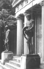 Monument du cimetière militaire allemand -  Denkmal Soldatenfriedhof St. Quentin