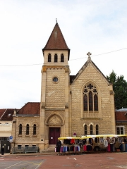 Temple protestant dit église évangélique - Français:   Château-Thierry (Aisne, France)