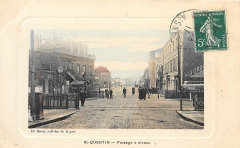 Gare - Français:   La gare de Rocourt.