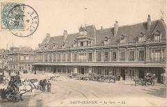 Gare - Français:   La gare en 1904.