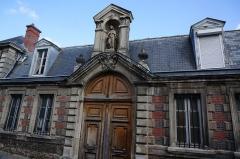 Hôtel Dieu - Français:   Lors de la Nuit européenne des musées de 2015 à Châlons-Thierry. musée de Hôtel Dieu de Château-Thierry.