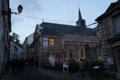 Hôtel Dieu - Français:   Lors de la Nuit européenne des musées de 2015 à Châlons-Thierry. musée.