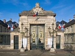 Hôtel de ville - Français:   Soissons, Hôtel de ville, Portail