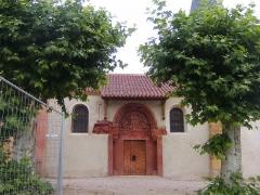 Eglise Saint-Georges -  Tympan XIIe siècle