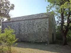 Chapelle Sainte-Madeleine -  chapelle Sainte-Madeleine à Châteauneuf-Val-Saint-Donat (XIIe)