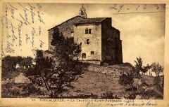 Prieuré et chapelle Saint-Pancrace - Français:   Forcalquier Chapelle-Saint-Pancrace