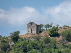 Château - English: Sainte Agathe chapel in Saint Maime, Alpes-de-Haute-Provence, France