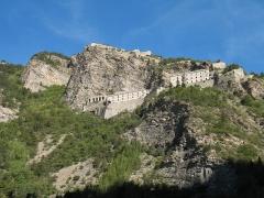 Fort de Tournoux -   Jausiers, département des Alpes-de-Haute-Provence, France  Fortìfication
