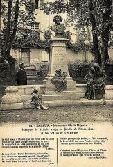 Monument à Clovis Hugues - Français:   Monument à Clovis Hugues