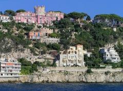 Château de l'Anglais - Français:   Nice - Le Mont-Boron et le château de l\'Anglais