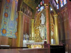 Eglise Notre-Dame-Auxiliatrice - English: Autel