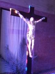 Eglise Notre-Dame-Auxiliatrice - English: La croix