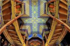 Eglise Notre-Dame-Auxiliatrice - English: Plafond de la paroisse