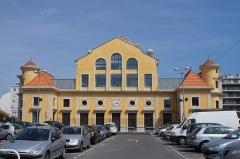 Ancienne gare du Sud - Deutsch: Rückseite des ehemaligen Kopfbaus des Bahnhofs der Chemins de fer de Provence in Nizza