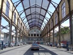 Ancienne gare du Sud -  Terminus historique actuellement désaffecté des Chemins de fer de Provence à Nice (Alpes-Maritimes, France). Cette structure est classée monument historique car elle abritait le pavillon de la Russie à l'exposition universelle de 1889.