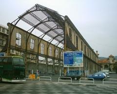 Ancienne gare du Sud -  Back of Gare du Sud, Nice.