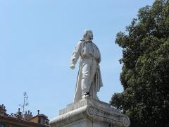 Monument à Garibaldi -  Giuseppe Garibaldi (1807 - 1882), Nice, Provence-Alpes-Côte d'Azur, France