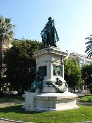 Monument au Maréchal Masséna -  André Masséna (1758 - 1817); Sq. du Gen. Leclerc, Nice, Provence-Alpes-Côte d'Azur, France
