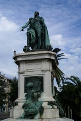 Monument au Maréchal Masséna - English: Nice - Place Général Leclerc - Statue of Masséna
