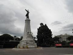 Monument du centenaire de la réunion à la France situé dans le jardin Albert Ier -  Monument du Centenaire