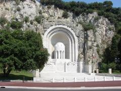 Monument aux morts de la guerre de 1914 - 1918 -  Monument aux morts, Nice, Provence-Alpes-Côte d'Azur, France