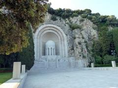 Monument aux morts de la guerre de 1914 - 1918 -  Nice. Nice la Belle (Nissa La Bella)