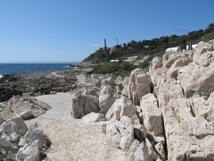 Phare du Cap Ferrat - English: Cap-Ferrat lighthouse from east