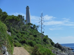 Phare du Cap Ferrat - English: Cap Ferrat lighthouse at Saint-jean-Cap-Ferrat.